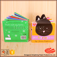 Cut design good quality my hot book printing for children learing DH3029#