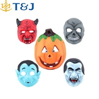 >>>Pumpkin/Zombie/Vampire/Ghost/Ox Horn Full Face New Mask Masquerade Dancing Costume Decoration Halloween Party Cosplay Mask/