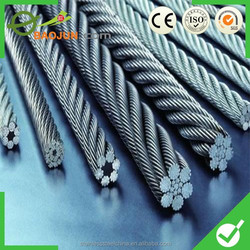 high quality and good price steel wire rope fence producer