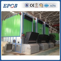 High temprature oil output thermal oil boiler for textile