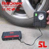 roadside car emergency kit automobile starting power go6a jump starter with emergency kit tire pump