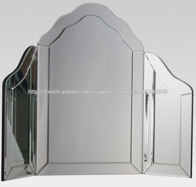 Grand miroir style fen tre en trois volets for Grand miroir fenetre