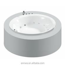 cheap spa round whirlpool portable bathtub outdoor