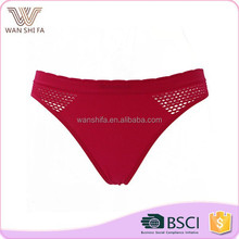 Hot selling beautiful factory price sexy women panty thong underwear