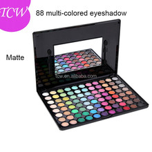 88 eye shadow palette, makeup multi colored eyeshadow palette, your own brand cosmetics