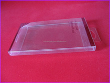 Clear PVC cell phone case retail packaging