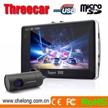 Alibaba Top sales dual camera wifi Anti-theft GPRS full hd 1080p car black box