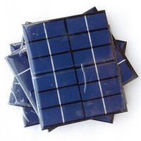 Waterproof 2W 230ma poly small epoxy resin solar panel