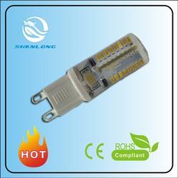 230V new G9 led 3W 3014SMD Light led bulb G9 Silicone LED
