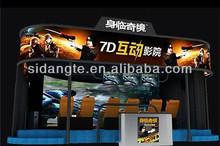 entertainment industry indoor playground equipment, 6D cinema, 5D theater