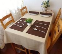beautiful modern 2015 western style fancy linen cafe square table cloth import for restaurant