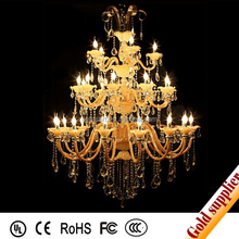 colorful european bend glass crystal chandelier lighting glass candle lamp