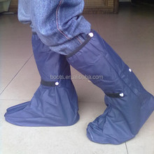motorbiker Gear Waterproof Footwear Protector Rain Boot Shoe Long Cover Adult for Walking