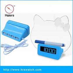 Factory price Hello kitty message board,hello kitty clock,hello kitty alarm clock