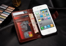 Designer hot sell leather crafts case for iphone 4 s