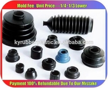 Rubber Bellows For Automotive Products / Expansion Automotive Dust Bellows / Automotive Rubber Seal Bellows
