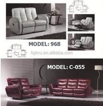 classic living room recliner sofa/contemporary furniture sofa set 1+2+3