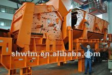 mobile crushing and screening plant 2012