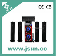 2015 hot sale wireless bluetooth speaker with led light,bluetooth subwoofer with FM radio