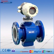 Digital low cost electromagnetic sewage flow meter water price with RS485