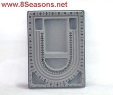 Beading Tray Bead Trays Stringing Jewelry Design Board 330x240x15mm, sold per packet of 5
