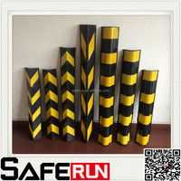 durable rubber corner angle protectors for wall