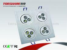 High Power 12*1w Squre LED downlight