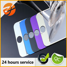 Colored electroplate Tempered glass for iphone accessories, full cover screen protector for iphone 4