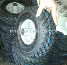 350-4 Inflatable Wheel Barrow Tire 10 Diameter