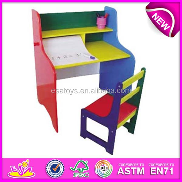 Cute Wooden Desk Magic Desk Student Desk And Chair For