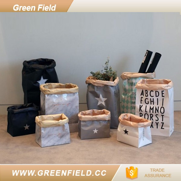 Green Field® Is A Visionary Supplier Of Washable Kraft Storage Bag Made  From Kraft Paper ...