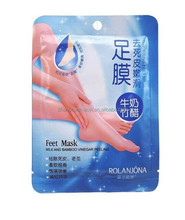 Mexico Hot Sale ROLANJONA foot mask 7days stocks foot mask foot peeling mask