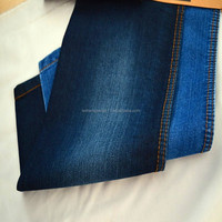 Cotton polyester denim fabric for readymade jeans