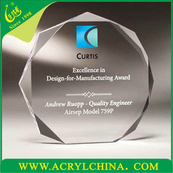 2015 Acrylic Type and Paperweight Product Type clear acrylic paperweight stand
