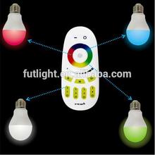 wifi 6W rgb remote control wireless led lighting energy saving bulb smart led bulb
