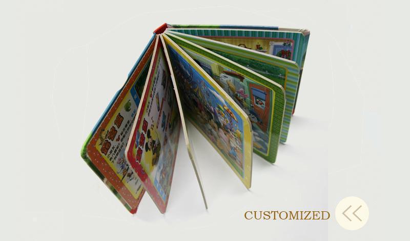 blank a3 crianças a leitura do livro de capa dura de impressão