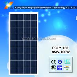 China solar panel manufacturer poly solar module 90 watt
