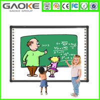 Movable usb IR best class digital smart board ceramic interactive whiteboard