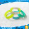 Custom high quality Colors Segmented Silicone Wristband
