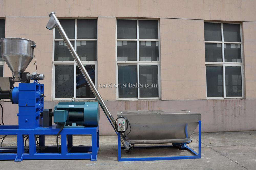 Double Stage PE PP Film Granulating Machine