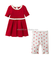 2015 New Cheap 100% Cotton Baby Cloth Children's Wear Suit Sets For Age 1-6T