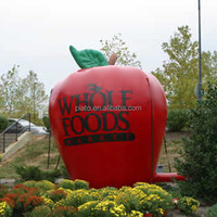 Big inflatable red apple for sale