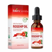 Rosehip Oil - 2 OZ -Anti ageing, nourishes, hydrates and visibly reduces fine lines, scars, stretch marks ---585058