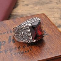 BEIER Shitai Silver jewelry wholesale 925 sterling silver inlay zircon ring pop star models D0599