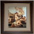 Cuadro de la pintura al óleo del arte desnudo