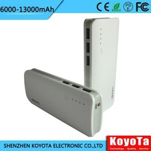 sell well top value portable usb power bank 13000mah for all digital products