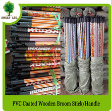 Customized Thick Wooden Broom Stick