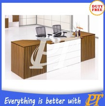 Customized office reception desk design