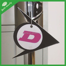 funny die cut 2mm cotton paper car paper air fresheners for car