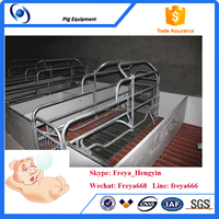 Pig raising equipment/farrowing stall for pig/farrowing cage for sow and piglets